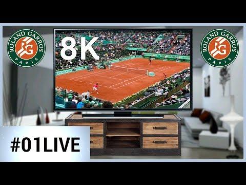 Il Roland Garros in 8K
