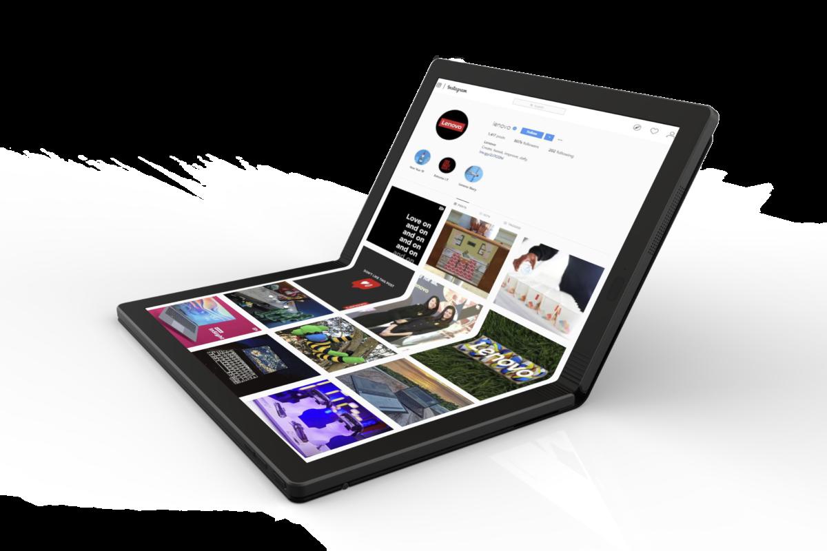 Lenovo Fold, il primo computer pieghevole al mondo
