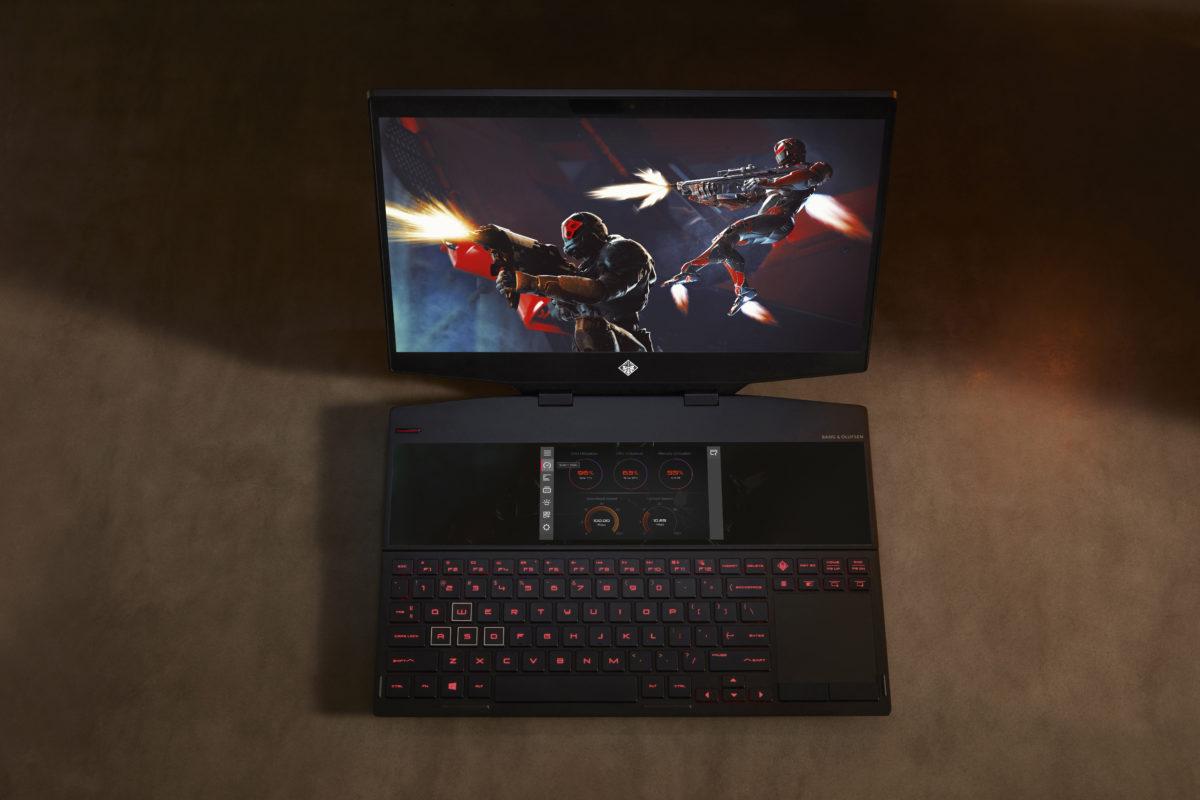 OMEN X 2S, il laptop con due schermi per il gaming