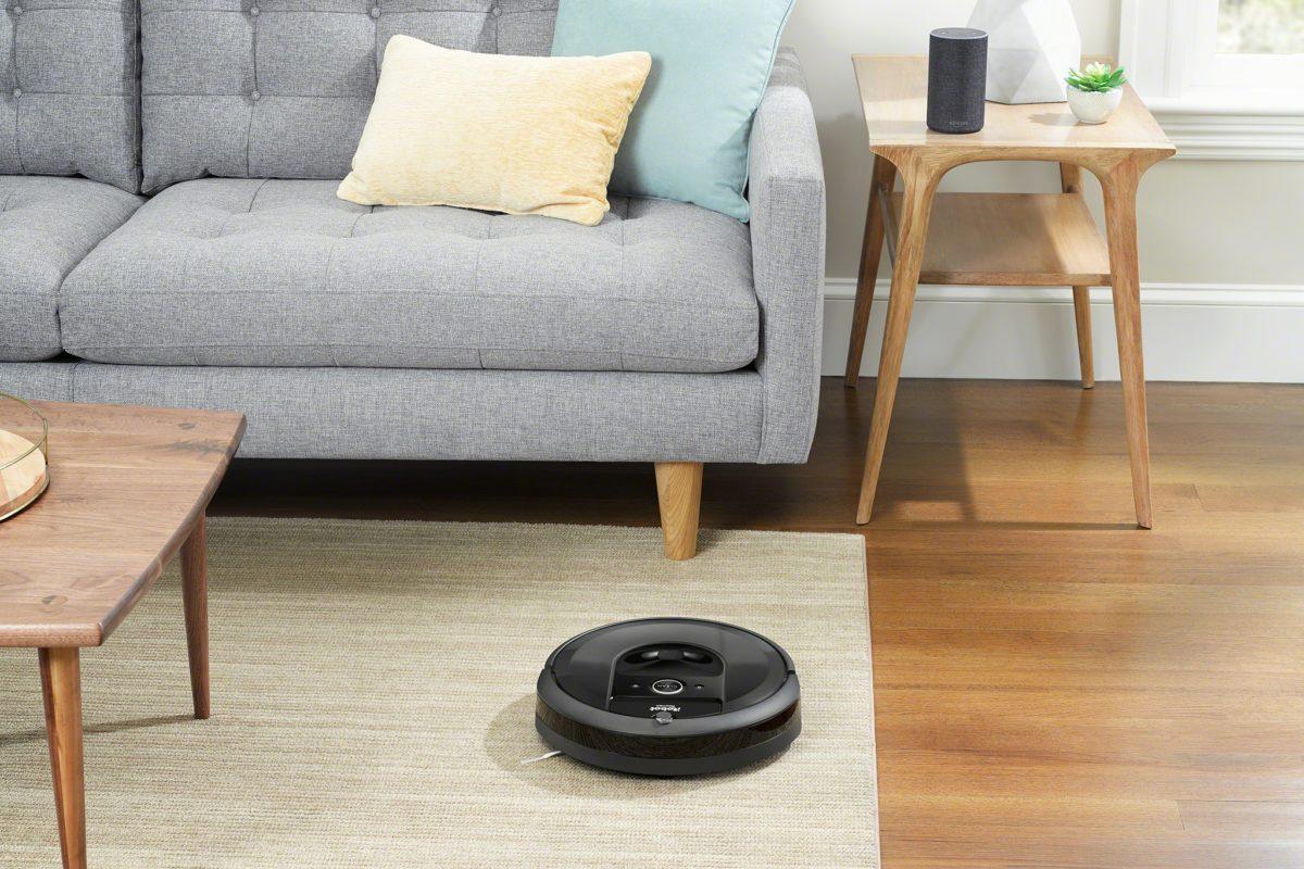 Roomba i7+, l'aspirapolvere robot da svuotare una volta al mese