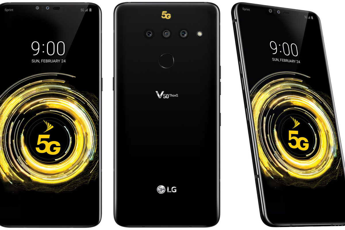 LG V50 5G: disponibile in Italia grazie a Vodafone
