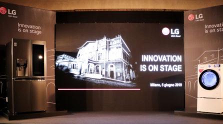 Innovation on Stage di LG, gli elettrodomestici ora pensano