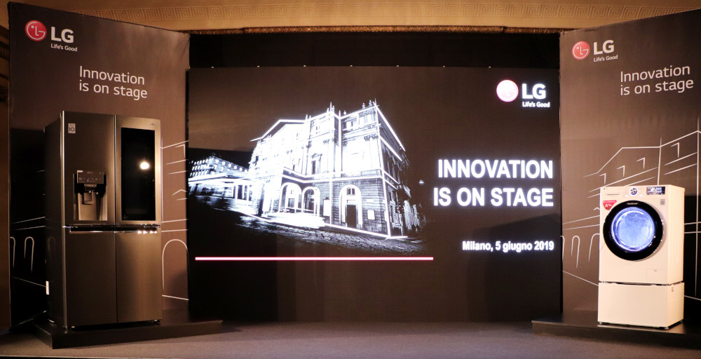 Innovation on Stage di LG, gli elettrodomestici ora pensano