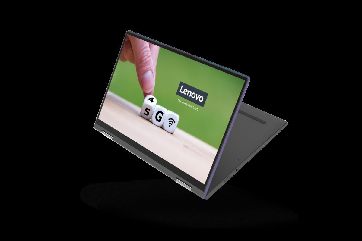 Lenovo sfida il futuro con i PC 5G always-onsempre connessi