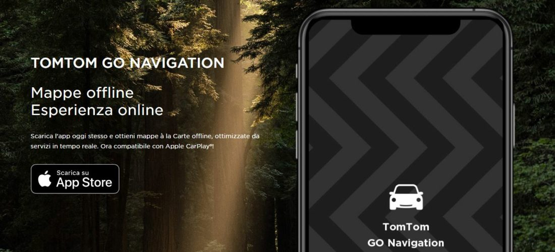TomTom Go Navigation, mappe per iOs che fanno risparmiare dati