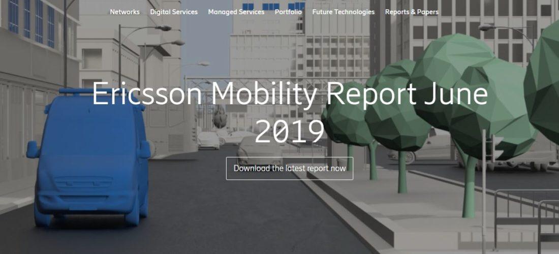 Il Mobility Report di Ericsson alza le stime sul boom del 5G