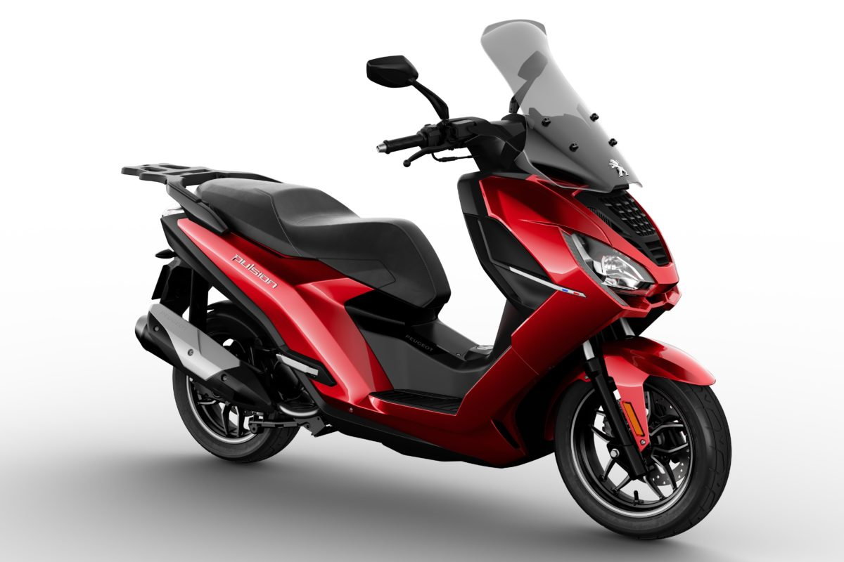 Peugeot Pulsion, scooter del futuro con i-Connect di serie