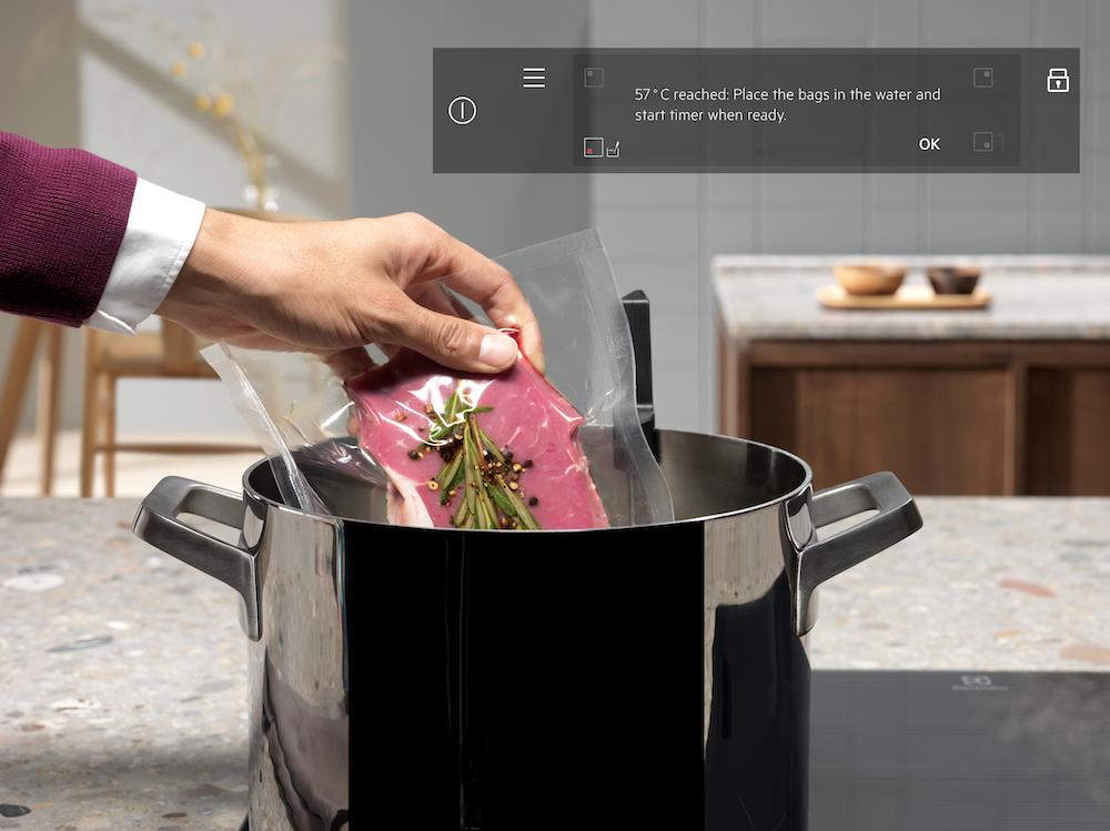 Electrolux e la termosonda wireless per una cucina da chef