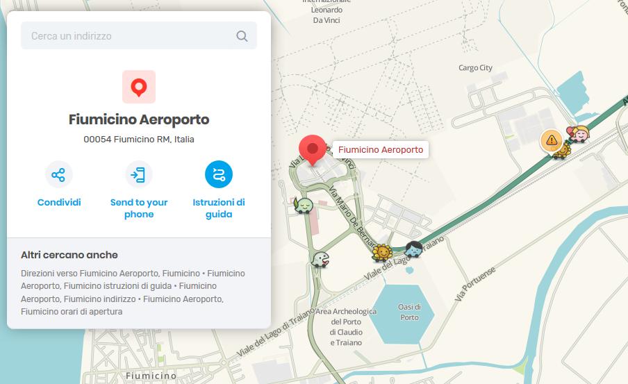 Waze e l'accordo con Aeroporti di Roma per traffico e parcheggi