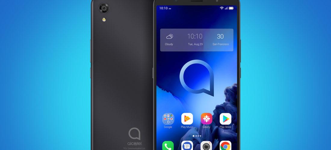 Alcatel 3C 2019, grande schermo a poco più di 100 euro