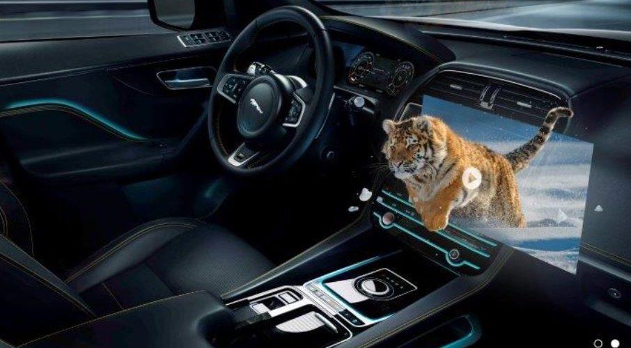 """Display head-up in 3D: la sfida """"incidenti zero"""" di Jaguar Land Rover"""