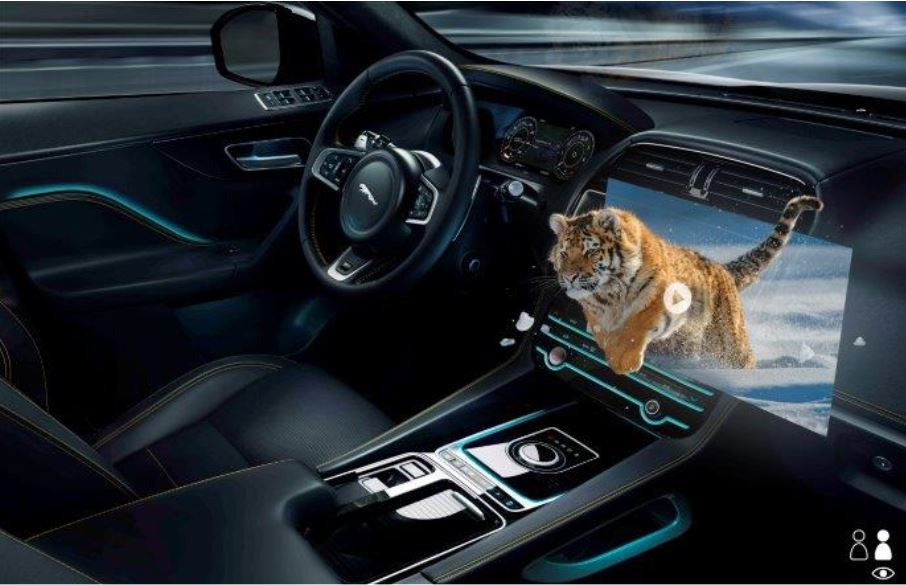 "Display head-up in 3D: la sfida ""incidenti zero"" di Jaguar Land Rover"