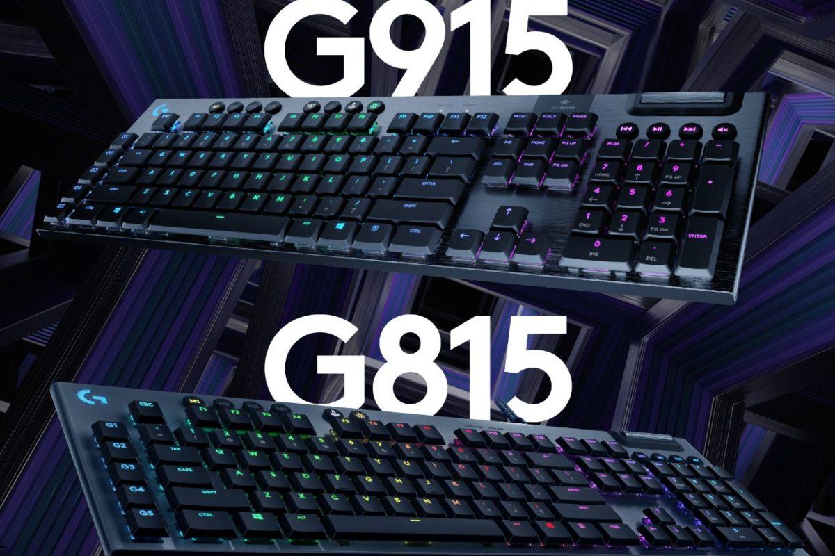Logitech G e le due nuove tastiere per i gaming