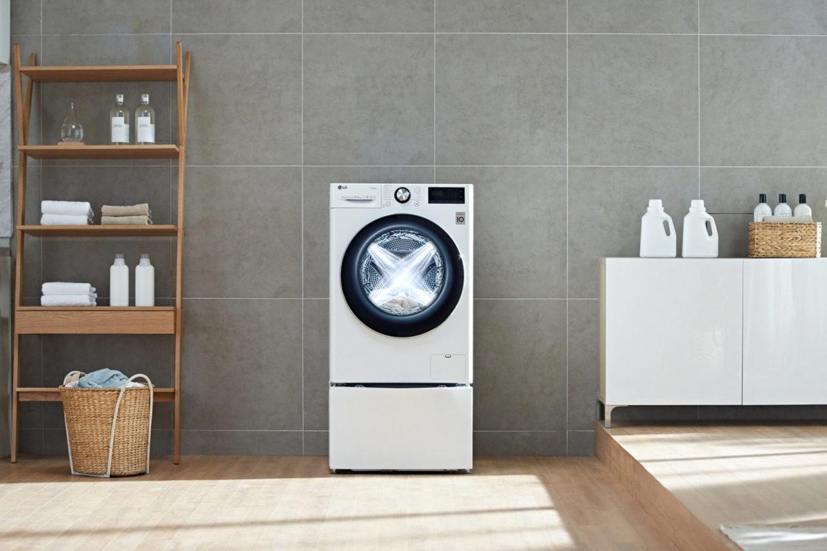IFA 2019, le lavatrici di LG con intelligenza artificiale
