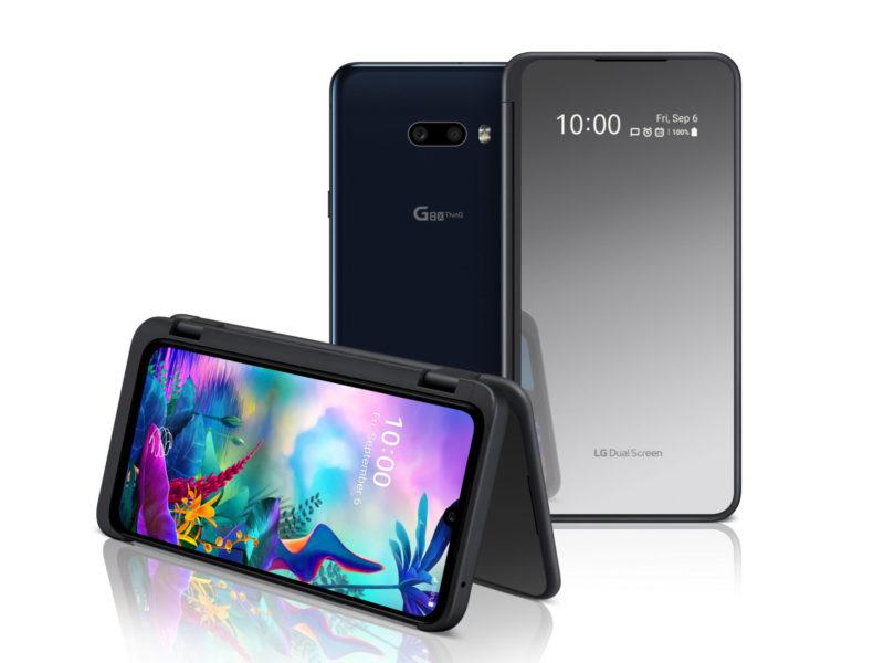 IFA 2019: G8x ThinQ Dual Screen, LG raddoppia il display (video)