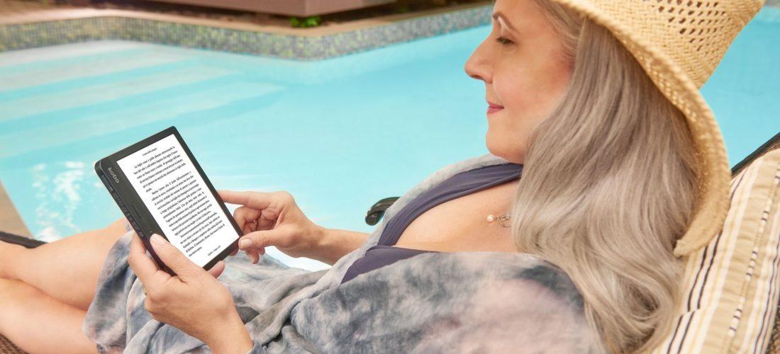 Libra H2O, il lettore di libri Kobo leggero e perfetto per il relax