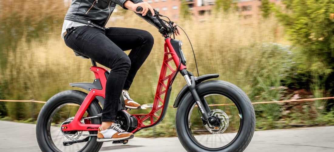 ISSIMO, la urban e-bike Fantic Motor con i ruotoni