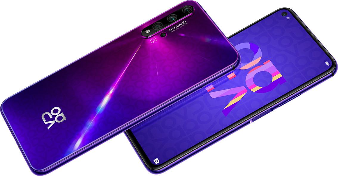 nova 5T, arriva il nuovo Huawei con cinque fotocamere
