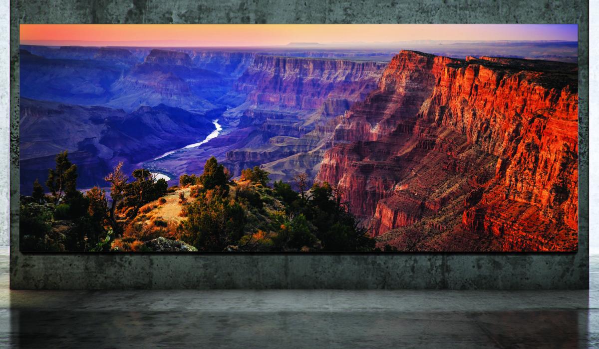 The Wall, lo schermo con formato personalizzabile grazie ai MicroLed