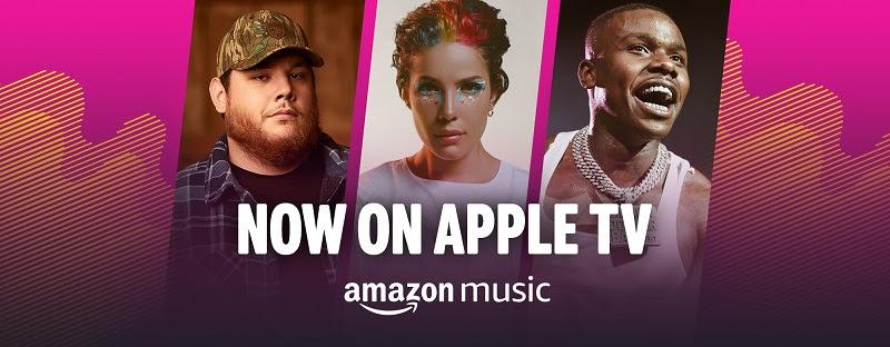 Amazon Music arriva su Apple Tv