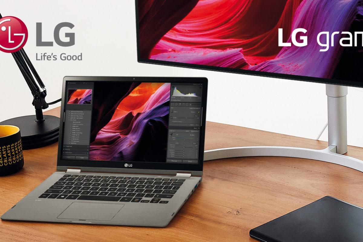 LG gram, la linea di notebook ultraleggeri