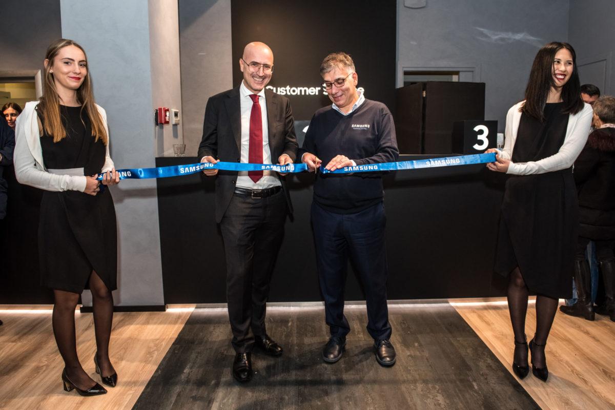 Presentato a Milano il nuovo Samsung Customer Service