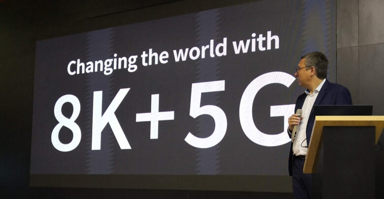 Sharp lancia il nuovo ecosistema 8K+5G