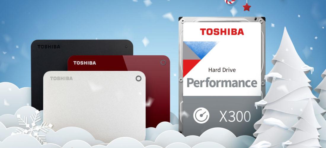 Un'idea per Natale: gli hard disk di Toshiba