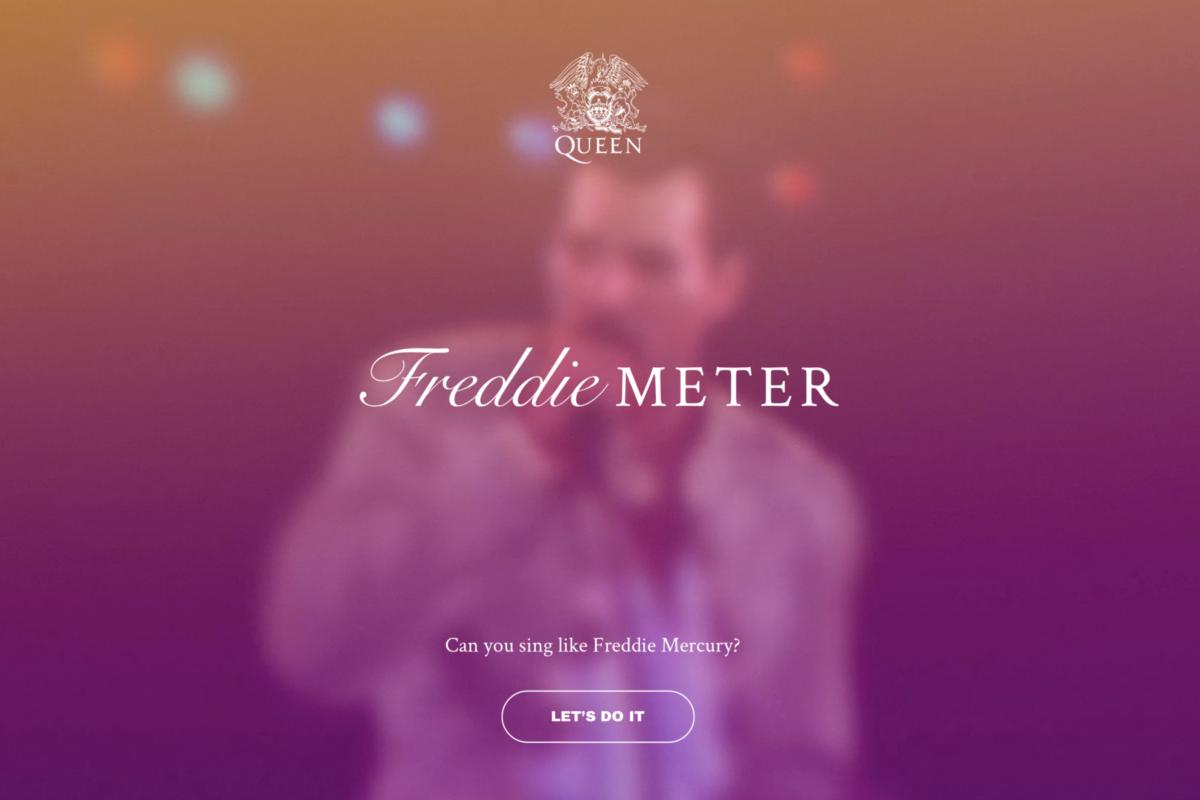 FreddieMeter, l'app per cantare come Freddie Mercury