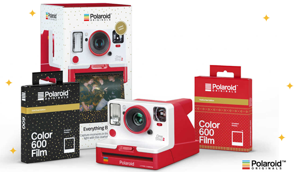 Polaroid Originals per Natale presenta One Step 2 red edition