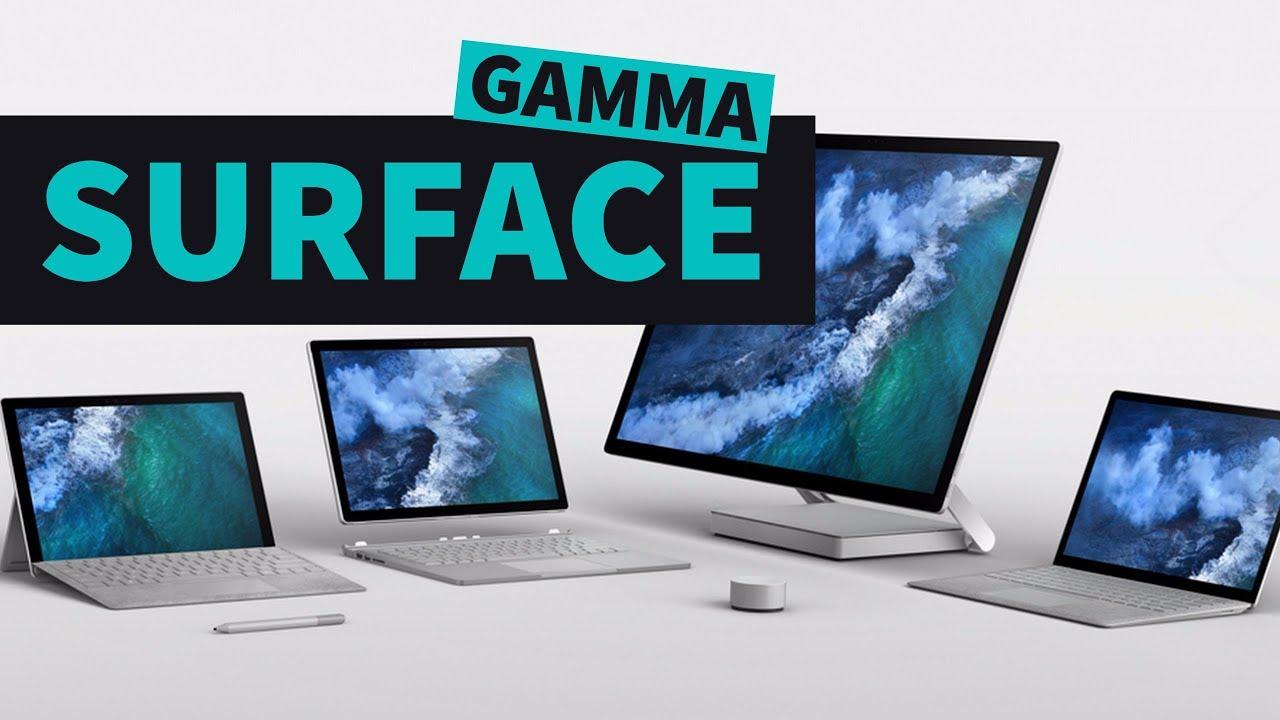 gamma surface_evidenza