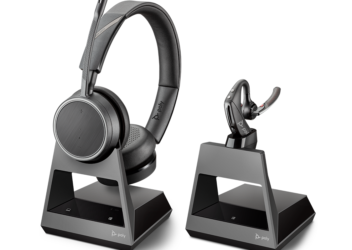 Poly: le cuffie Bluetooth della serie Voyager Office