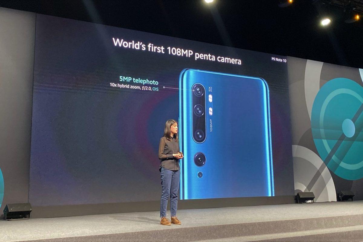 Xiaomi Note 10: ecco lo smarphone da 108 megapixel