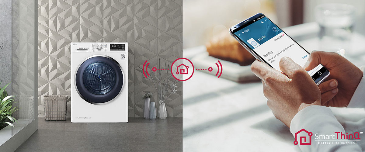 LG Dual Inverter Heat Pump, l'asciugatrice smart che non rovina i tessuti