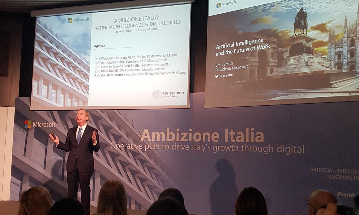 Microsoft: con Ambizione Italia un progetto per l'accessibilità