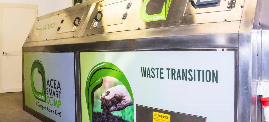 ACEA e le Smart Comp per riciclare i rifiuti della Fiera di Roma