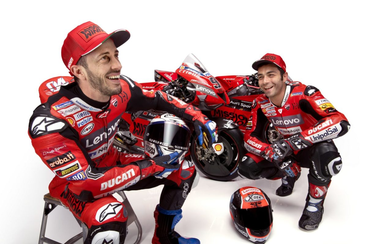È ufficiale: partnership di un anno tra Motorola e Ducati