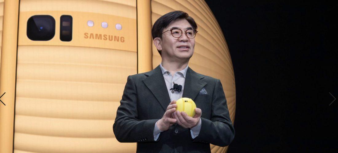 Il keynote Samsung al CES: il robot Ballie e il futuro al servizio dell'Uomo