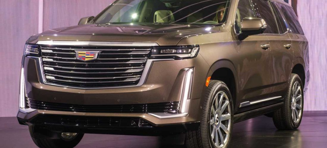 Sulla Cadillac Escalade 2021 il primo cruscotto P-OLED