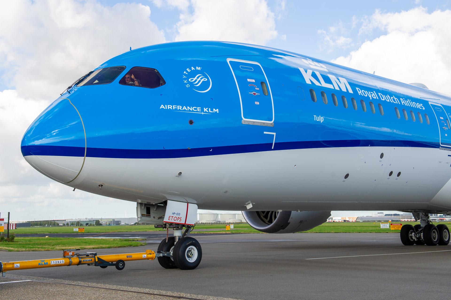 KLM con Lavazza