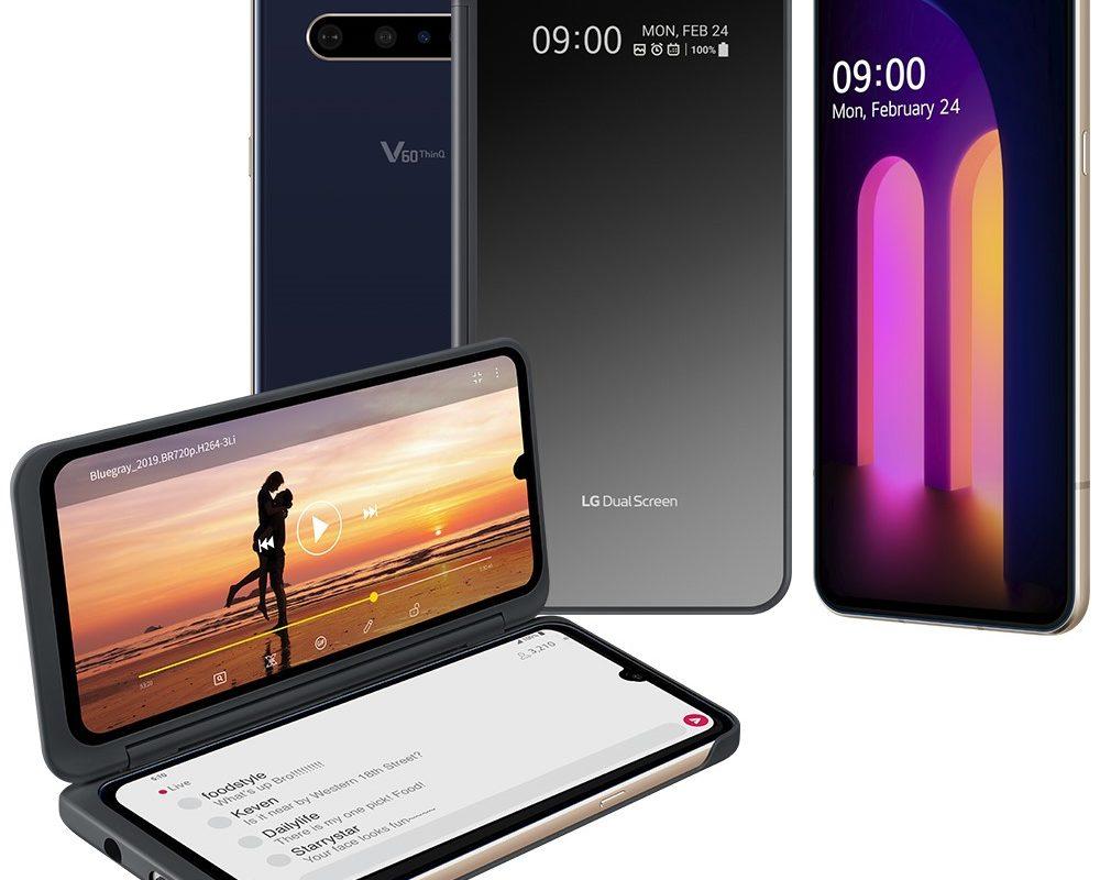 Da LG in arrivo il modello V60 ThinQ 5G con doppio schermo