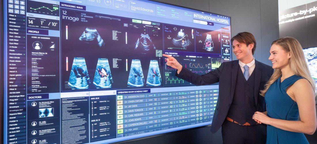 Gli schermi alternativi dei nuovi prodotti Samsung