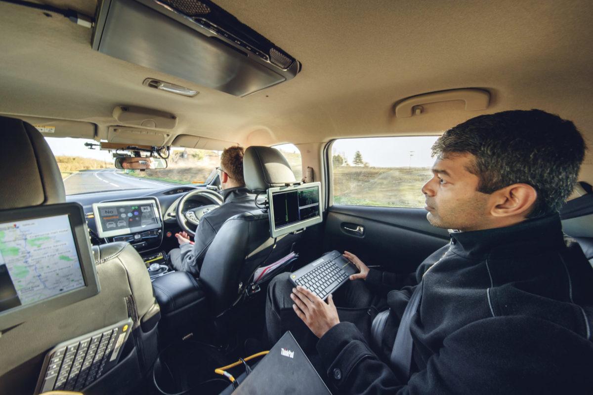 Realizzato il viaggio a guida autonoma più lungo del Regno Unito