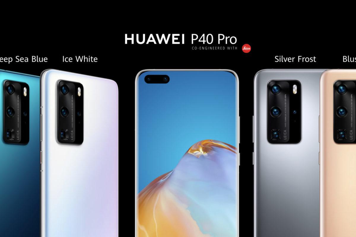 La nuova P40 Series di Huawei: normale, Pro e Pro+