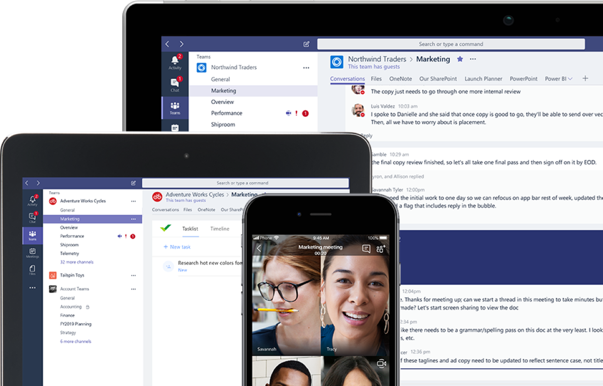 Microsoft Teams, novità per aiutare lo smart working