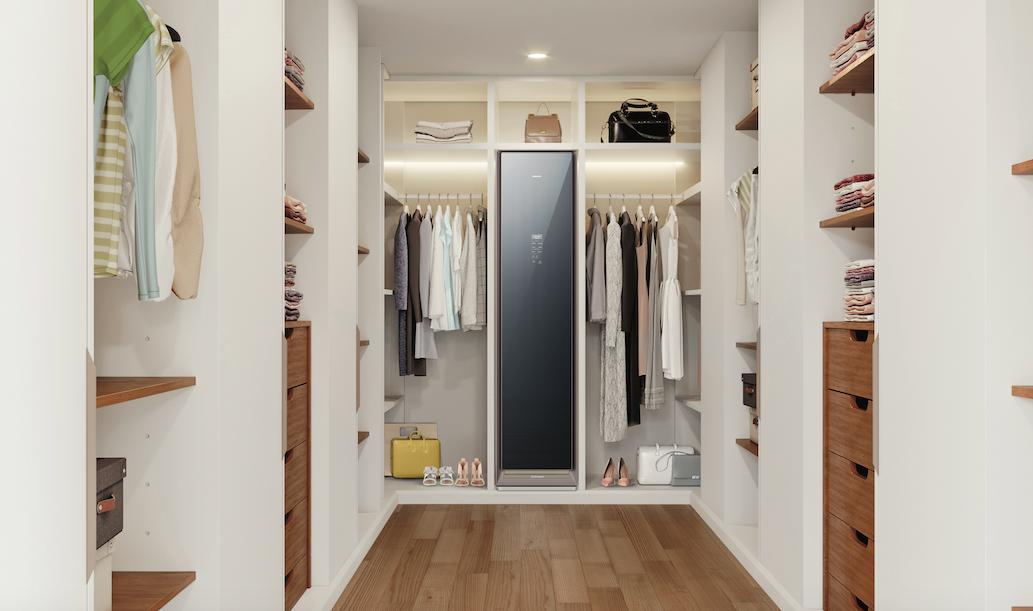 AirDresser, la cabina armadio che igienizza gli abiti