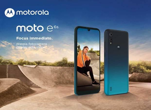 Il nuovo smartphone moto e6s di Motorola