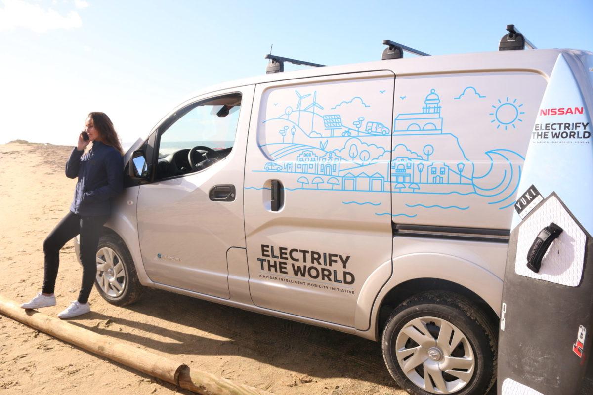 e-NV200: il van 100% elettrico di Nissan