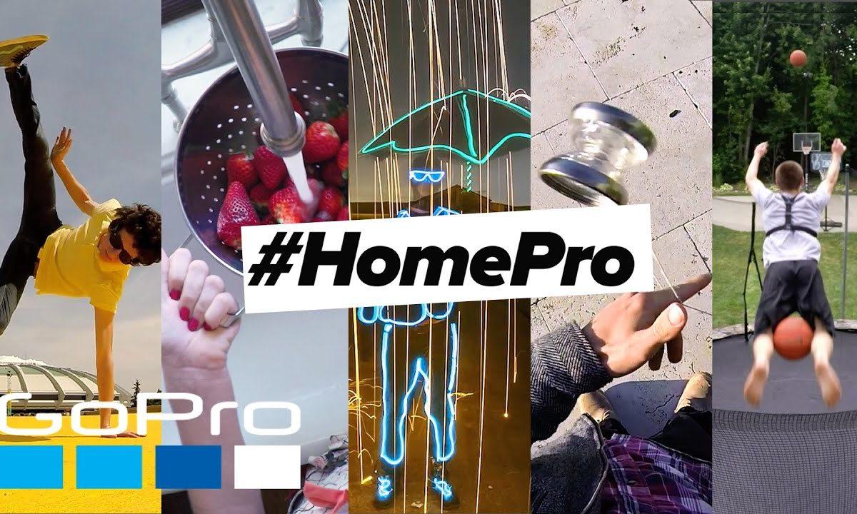 #HomePro Challenge: la sfida di GoPro