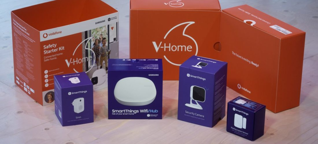 V-Home Mini, il nuovo ecosistema Vodafone per la smart home